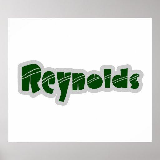 Poster de Reynolds