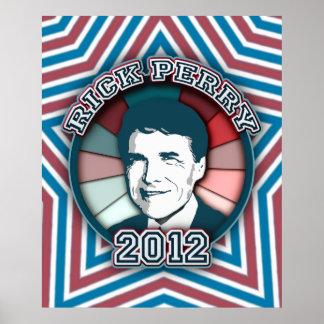 Poster de Rick Perry en 2012