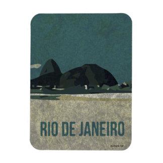 Poster de Río de Janeiro Imán De Vinilo