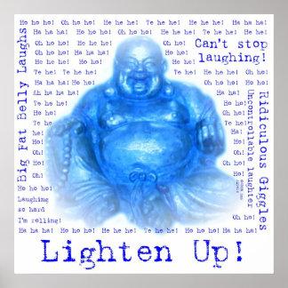 Poster de risa de Buda 1