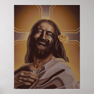 Poster de risa de Jesús Póster