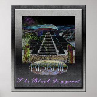Poster de Riskail: Ziggurat negro