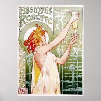 Poster de Robette del ajenjo