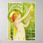 Poster de Robette del ajenjo de Alfonso Mucha