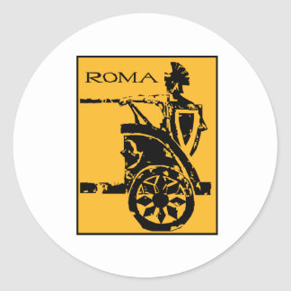 Poster de Roma Pegatina Redonda