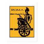 Poster de Roma Postal