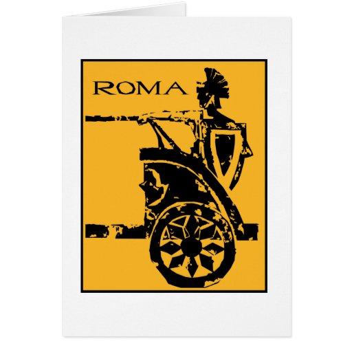 Poster de Roma Tarjeta