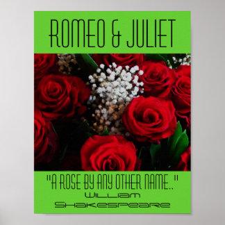 Poster de Romeo y de Juliet un festival color de r