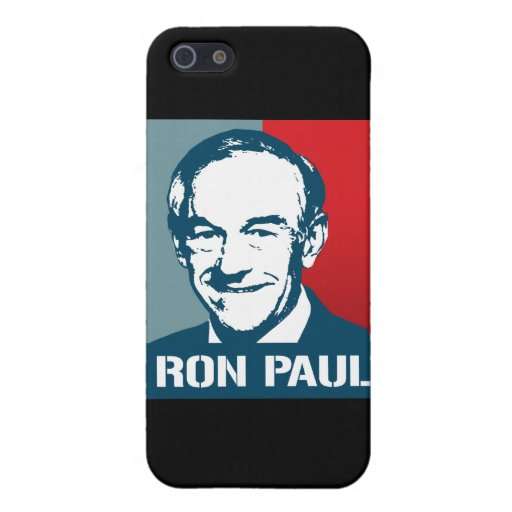 POSTER DE RON PAUL iPhone 5 CÁRCASAS
