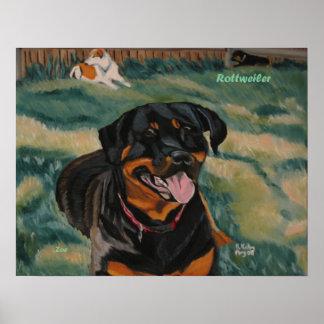 Poster de Rottweiler 2