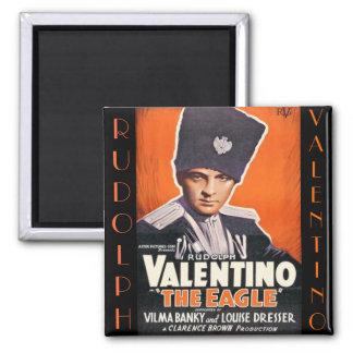 Poster de Rudolph Valentino Imán Cuadrado
