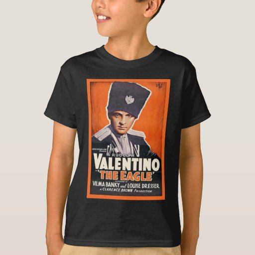 Poster de Rudolph Valentino Playera
