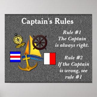 Poster de Rules_ de capitán