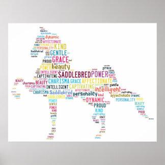 Poster de Saddlebred