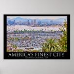 Poster de San Diego, California