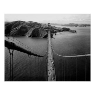 Poster de San Francisco de puente Golden Gate