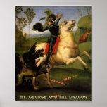 """Poster de """"San Jorge y del dragón"""""""