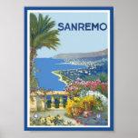 Poster de San Remo Italia