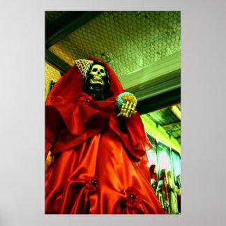Poster de Santa Muerte