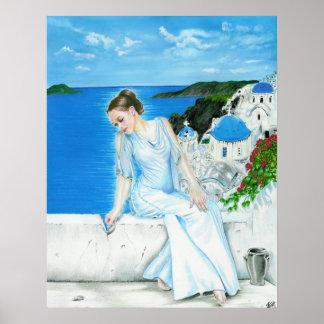 Poster de Santorini