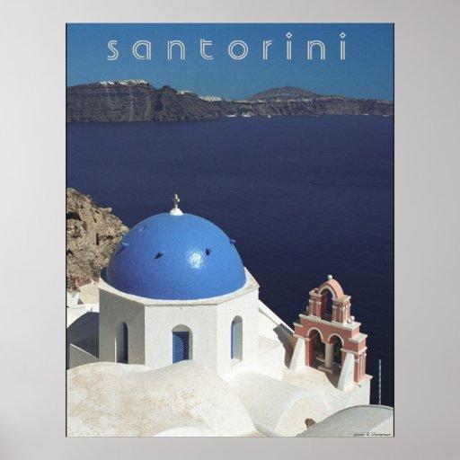 Poster de Santorini Póster