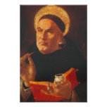 Pôster de São Tomás de Aquino Póster