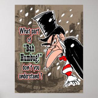 Poster de Scrooge (grande)