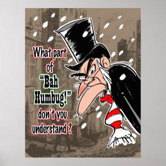 Poster de Scrooge (pequeño)