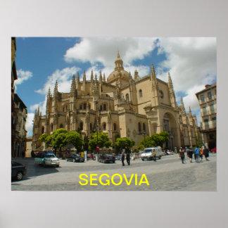 Poster de Segovia-España