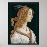 Poster de señora CC0281 de Sandro Botticelli (los