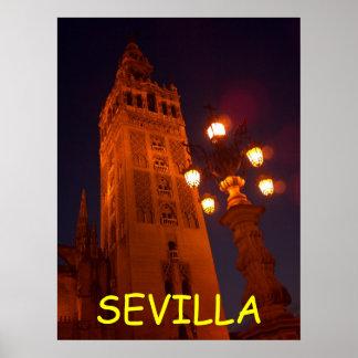 Poster de Sevilla Catedral-España