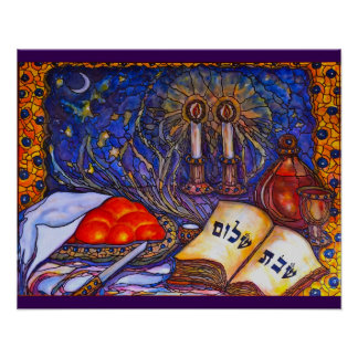 Poster de Shabbat Shalom