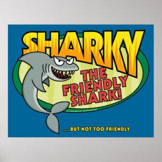 Poster de Sharky Póster