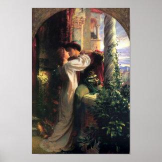 Poster de sir Frank Dicksee, de Romeo y de Juliet