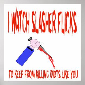 Poster de Slasher Póster