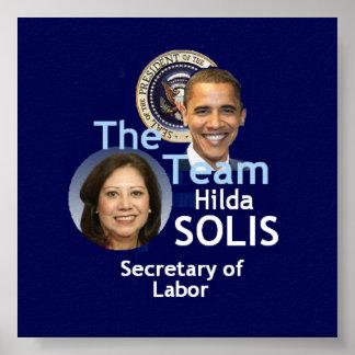 Poster de Solis del equipo