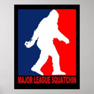Poster de Squatchin de la primera división
