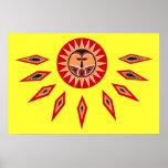 Poster de Sun del polinesio