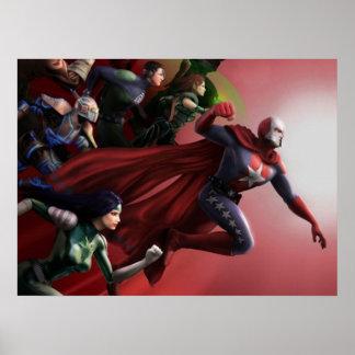 Poster de Superheros Póster