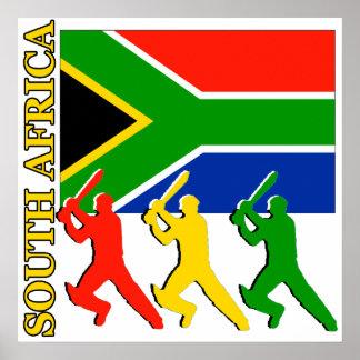 Poster de Suráfrica del grillo