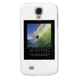 Poster de Surfing_Demotivational Funda Para Galaxy S4
