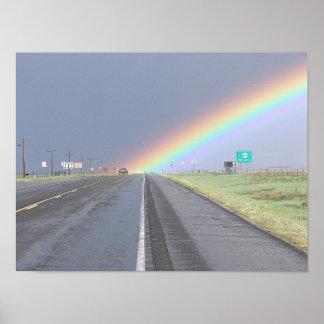 Poster de SUV del arco iris