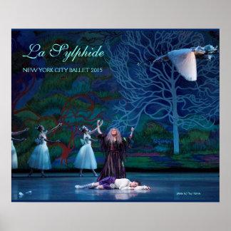 Poster de Sylphide del La de Madge y de James