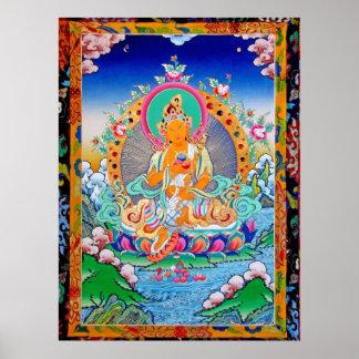 poster de Tara de la riqueza de la sabiduría n del