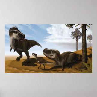 Poster de Tarbosaurus