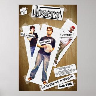 Poster de teatro de los perdedores