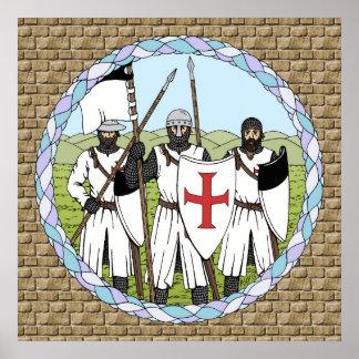 Poster de Templar de los caballeros