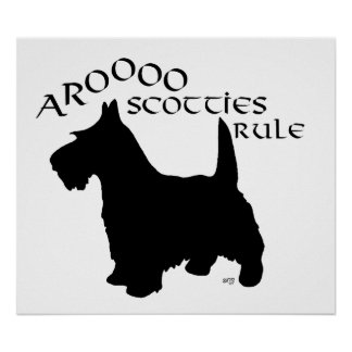 Poster de Terrier del escocés