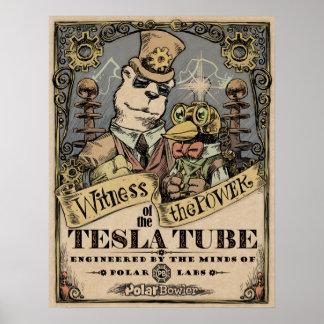 Poster de Tesla del PB Póster