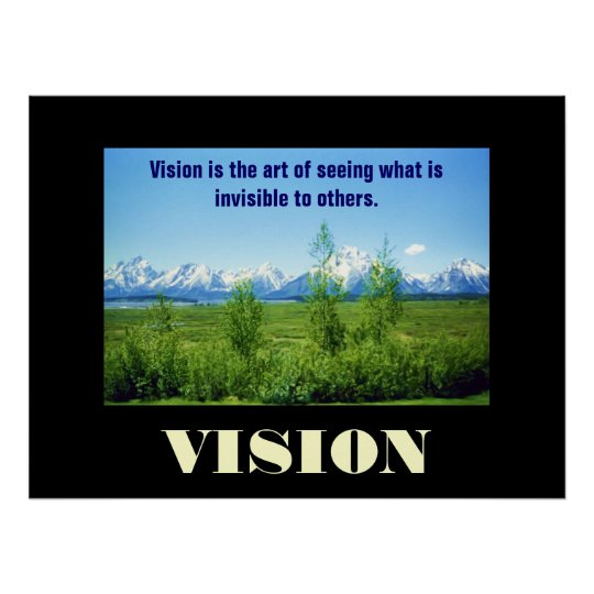 Poster de Tetons VISION de la primavera Póster